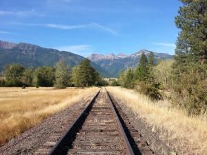 Beautiful scenery along the railrider lin